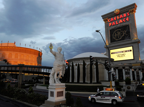 Caesars Palace Las Vegas Honors LIVESTRONG® Day by Bringing Awareness to Thousands of Strip