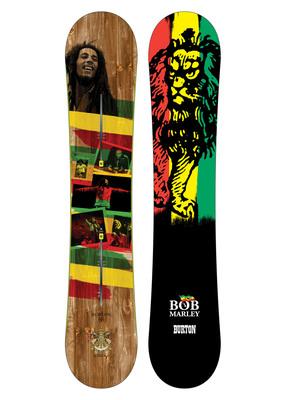 Whammy Bar Marley Snowboard by Burton.  (PRNewsFoto/Burton Snowboards)