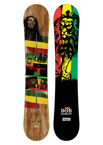 Burton Snowboards and Marley & Co. Collaborate on Snowboard Graphics