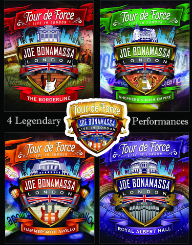 "Guitar Superstar Joe Bonamassa Releasing ""Tour De Force - Live In London"" on 4 DVDs & Blu-rays on Oct. ..."