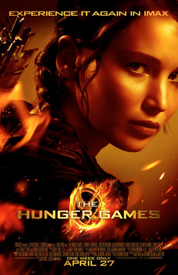 The Hunger Games Returns To Select IMAX(R) Theatres For A One Week Engagement.  (PRNewsFoto/IMAX Corporation)