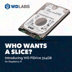 Western Digital Offers Growing Raspberry Pi Community New 314GB Drive