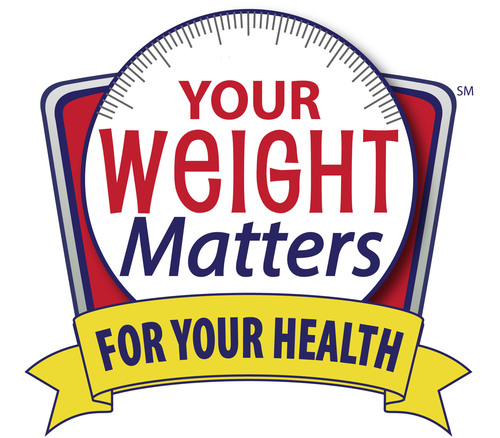 Take charge of your weight and health today! Visit www.YourWeightMatters.org for a FREE educational toolkit ...