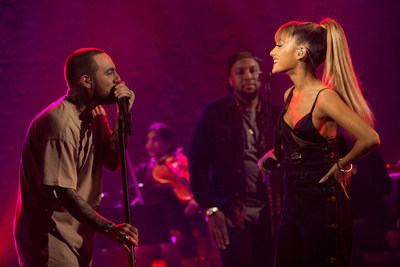 Mac Miller performs with special guest Ariana Grande on AUDIENCE Music.
