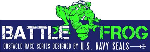 BattleFrog logo.  (PRNewsFoto/BattleFrog)