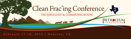 The Clean Frac'ing Conference 2: Technology & Communication. (PRNewsFoto/The Petroleum Connection) (PRNewsFoto/THE PETROLEUM CONNECTION)