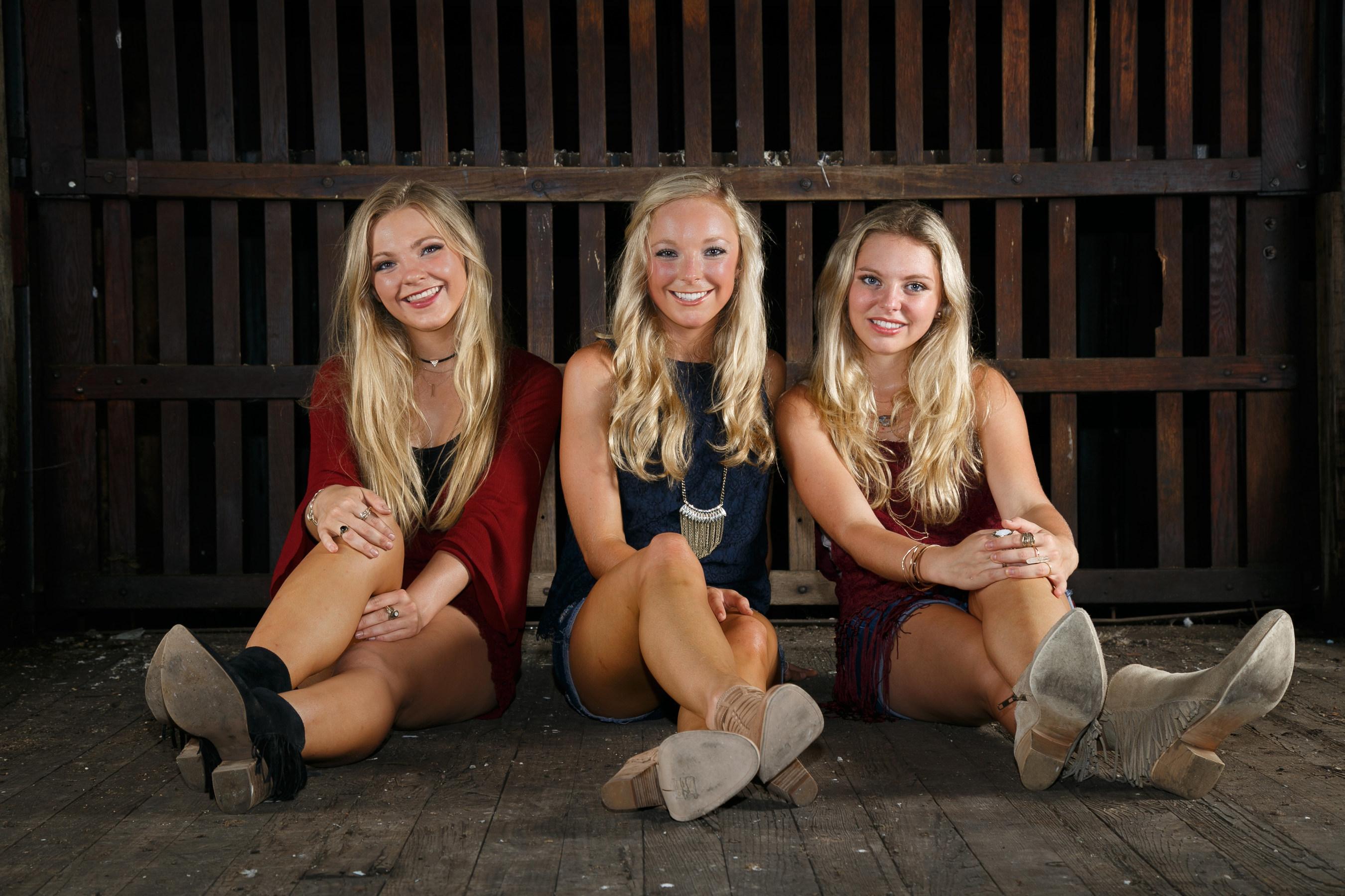 Southern Halo - Christina, Natalia and Hannah. Photo credit: Austin Britt (PRNewsFoto/Southern Halo)