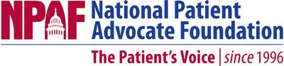 National Patient Advocate Foundation Logo. (PRNewsFoto/National Patient Advocate...) (PRNewsFoto/National Patient Advocate...)