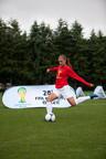 Alex Morgan, member of the 2012 U.S. Women's National Team that won gold at the London Olympics.  (PRNewsFoto/DePuy Mitek, Inc.)