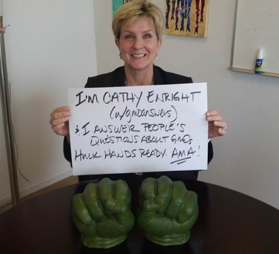 Cathleen Enright, Ph.D., of GMO Answers (PRNewsFoto/GMO Answers)