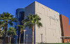 ERO Architects drew inspiration for the McAllen Performing Arts Center's exterior walls from complex, intricately woven trunks of stout, sturdy native palm trees common to McAllen, the city of palms. The walls can be lit with different colors to reflect the seasons and special events, and serve as a landmark for the city's convention center area.