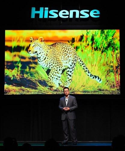 Hisense emerge como innovador de tecnología formidable en CES 2016
