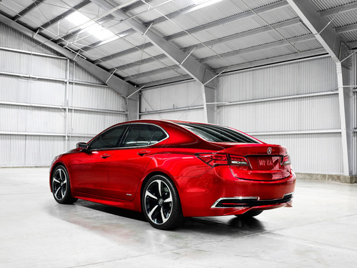 2015 Acura TLX Prototype unveiled at North American International Auto Show 1-14. (PRNewsFoto/Acura) (PRNewsFoto/ACURA)