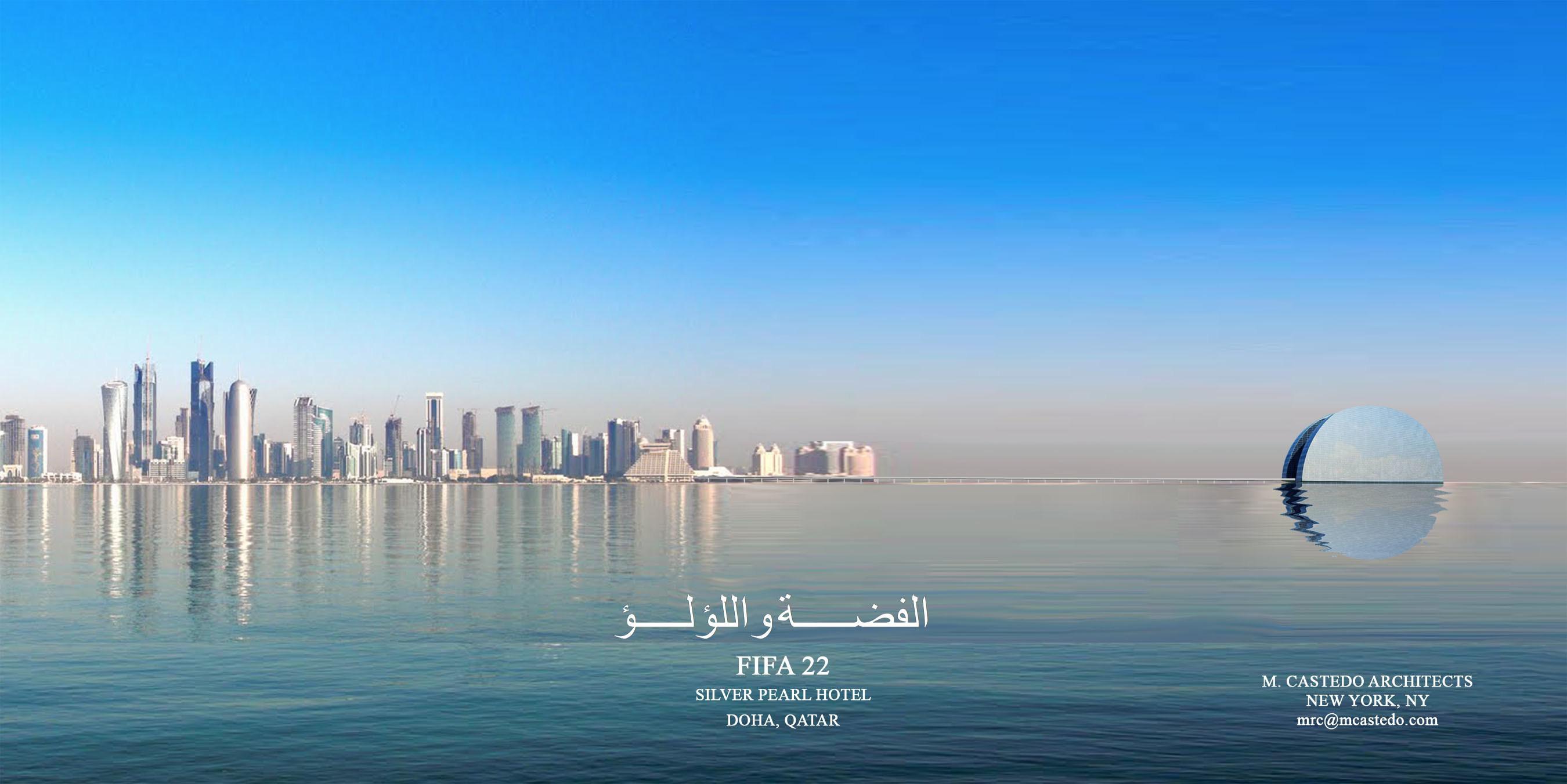 Silver Pearl and Doha Skyline