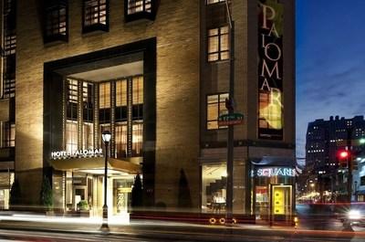 The Hotel Palomar in Philadelphia, PA