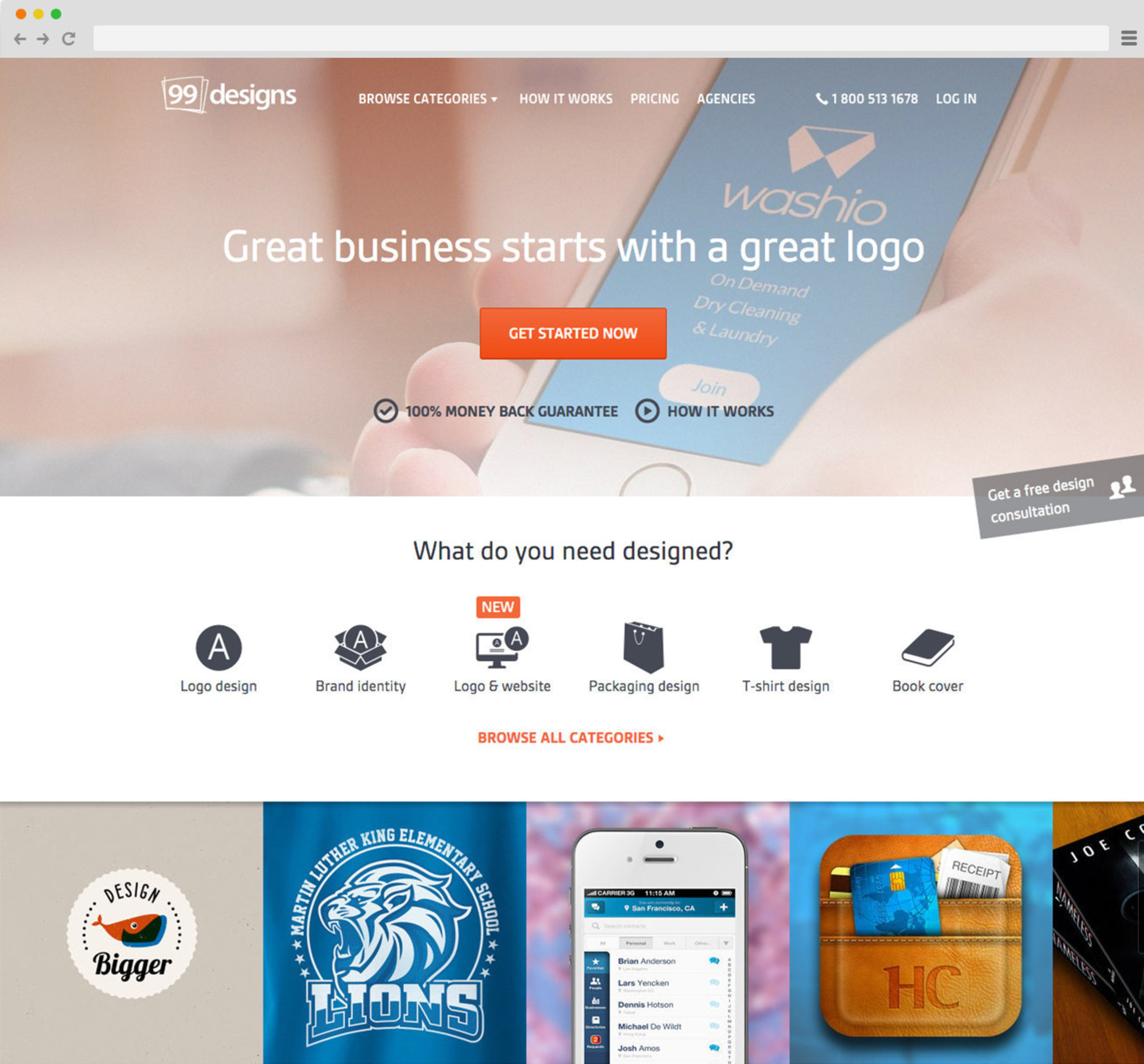 Great businesses start with a great logo.