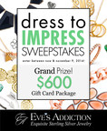 Win a Shopping Spree with the Dress to Impress Sweepstakes, Hosted by EvesAddiction.com! (PRNewsFoto/EvesAddiction.com)