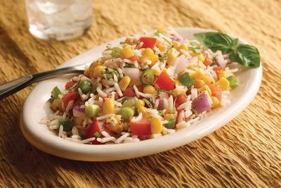 Summer Corn and Rice Salad with the new Minute Basmati Rice