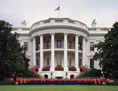 """The President's Own"" U.S. Marine Band will participate in the 57th Inauguration of the President of the United States on Jan. 21, 2013. This marks the Marine Band's 54th consecutive inaugural appearance, a tradition that dates back to Thomas Jefferson in 1801. The Marine Band is America's oldest continuously active professional musical organization. Founded in 1798, the band has performed for every U.S. President since John Adams. Known as ""The President's Own"" since the days of Thomas Jefferson, the band's primary mission is to provide music for the President of the United States and the Commandant of the Marine Corps.  (PRNewsFoto/The President's Own United States Marine Band)"