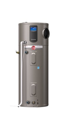 Introducing the Rheem(R) Prestige(R) Series Hybrid ElectricWater Heater: The Smartest, Most Efficient ElectricResidential Water Heater on the Market