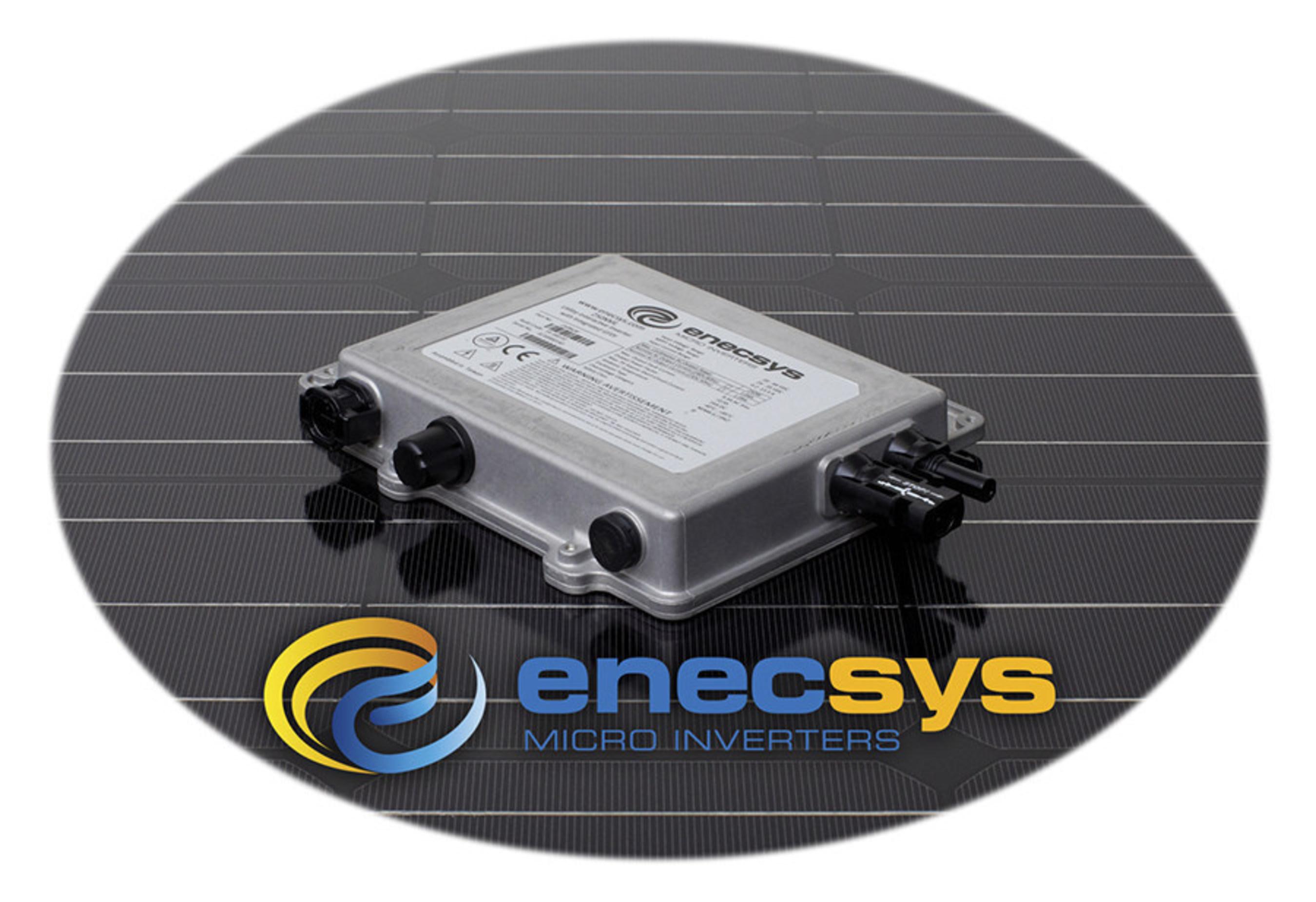 Plus petit, plus léger et plus puissant : Enecsys lève le voile sur un micro-ondulateur
