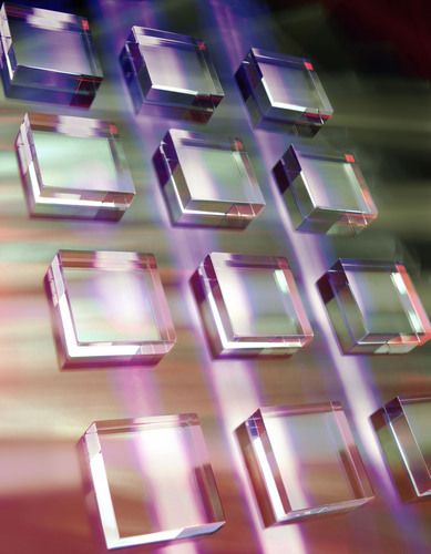 High purity single crystal CVD diamond engineered by Element Six and used by the University of Strathclyde to advance solid state laser technology. (PRNewsFoto/Element Six) (PRNewsFoto/ELEMENT SIX)