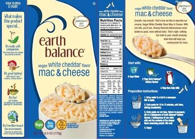 Earth Balance Vegan White Cheddar Mac & Cheese