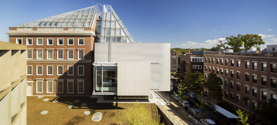 Exterior of Harvard Art Museums. photo courtesy of Arup. Copyright Nic Lehoux
