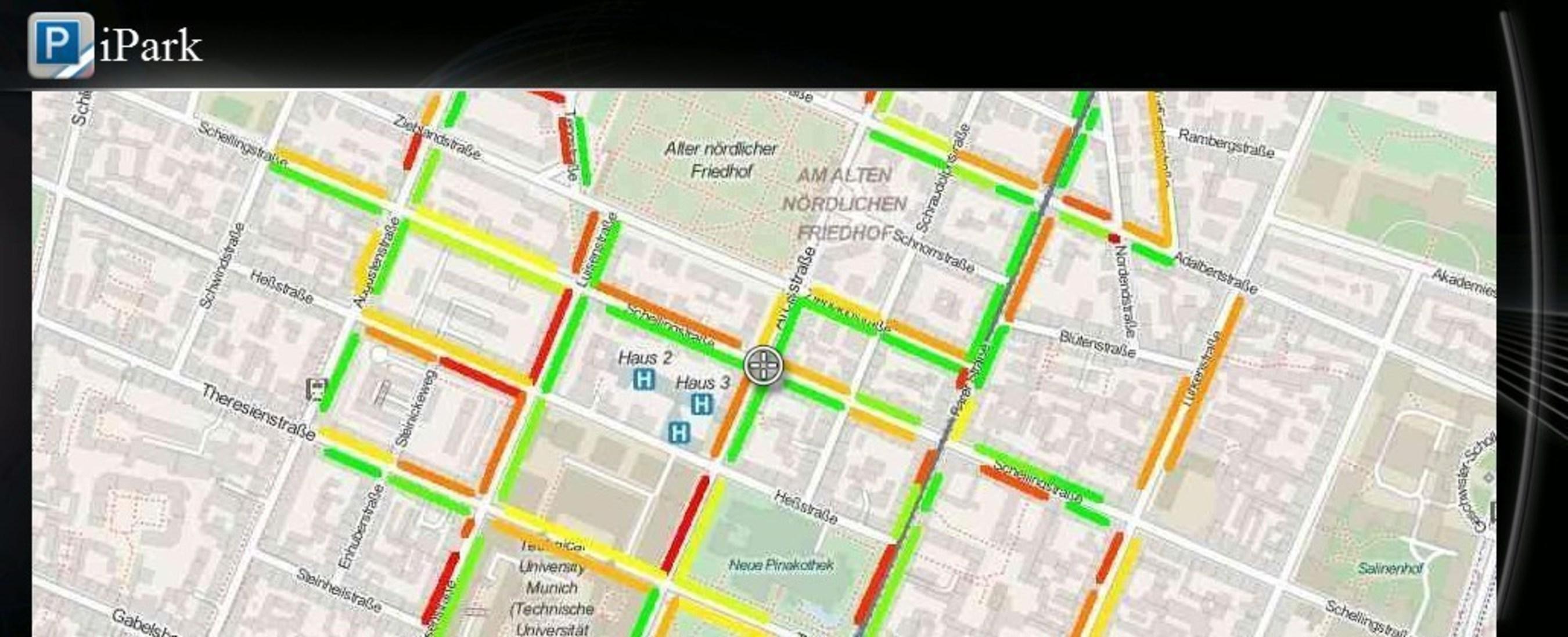 Bilister kan finde parkeringspladser hurtigere med ny INRIX On-Street Parking