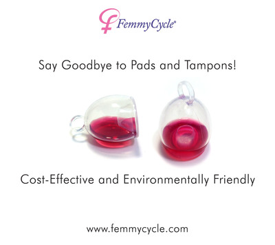 The FemmyCycle(R) is made of medical grade silicone, is safe for use for up to 12 hours and features a unique, no spill design. Recently granted FDA clearance, The FemmyCycle will be available to European and U.S. consumers online and in stores in early 2013.