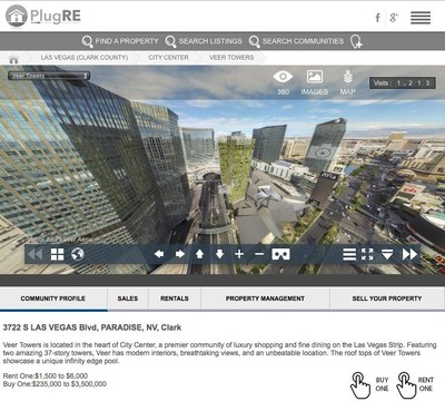 PlugRE Delivers Augmented Reality For Real Estate In Las  Vegas Showing Luxury Condos and Homes for Sale.