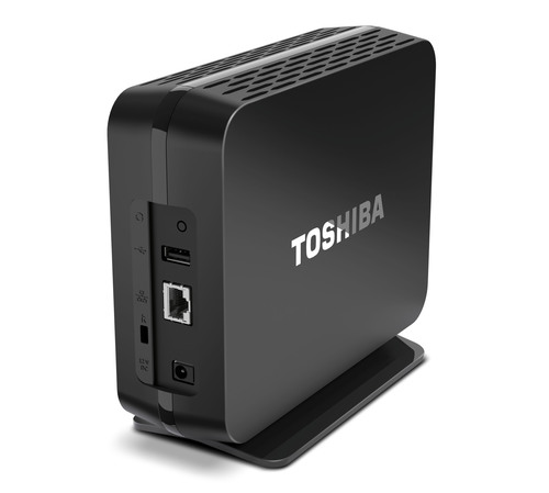 Toshiba's Canvio Personal Cloud is an easy-to-use storage hub that allows users to save their extensive ...