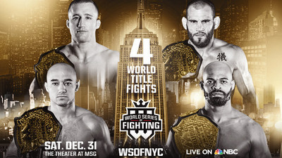 Countdown To The World Series Of Fighting New Year's Eve Extravaganza At The Theater At Madison Square Garden