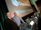 In San Jose, California, at the inaugural OpenPOWER Summit, Gordon MacKean, Chairman, OpenPOWER Foundation (left), and Brad McCredie, President, OpenPOWER Foundation (right), unveil a rapidly expanding hardware ecosystem with more than 10 new OpenPOWER community-developed solutions. The OpenPOWER Foundation is a collaboration of technologists encouraging the adoption of an open server architecture for computer data centers and has grown to more than 110 businesses, organizations and individuals across 22 countries. To learn more visit: www.OpenPOWERFoundation.org.