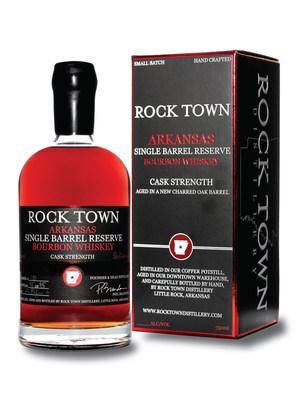 Rock Town Single Barrel Reserve Bourbon Whiskey