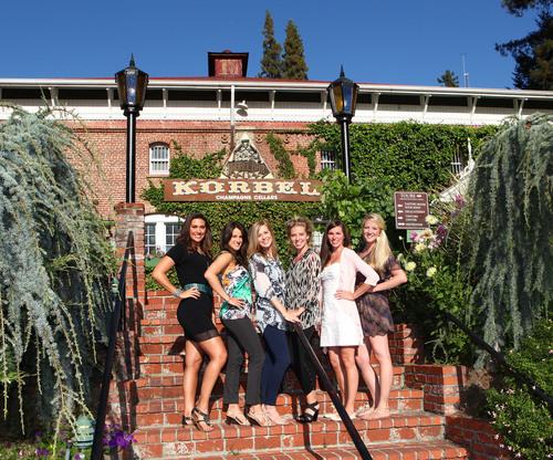Korbel California Champagne Toasts Fabulous Friendships