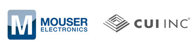 Mouser and CUI Inc logos