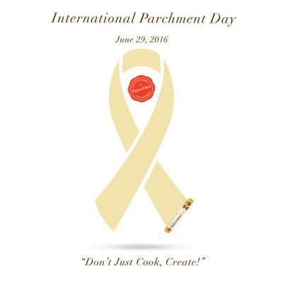 International Parchment Day Ribbon