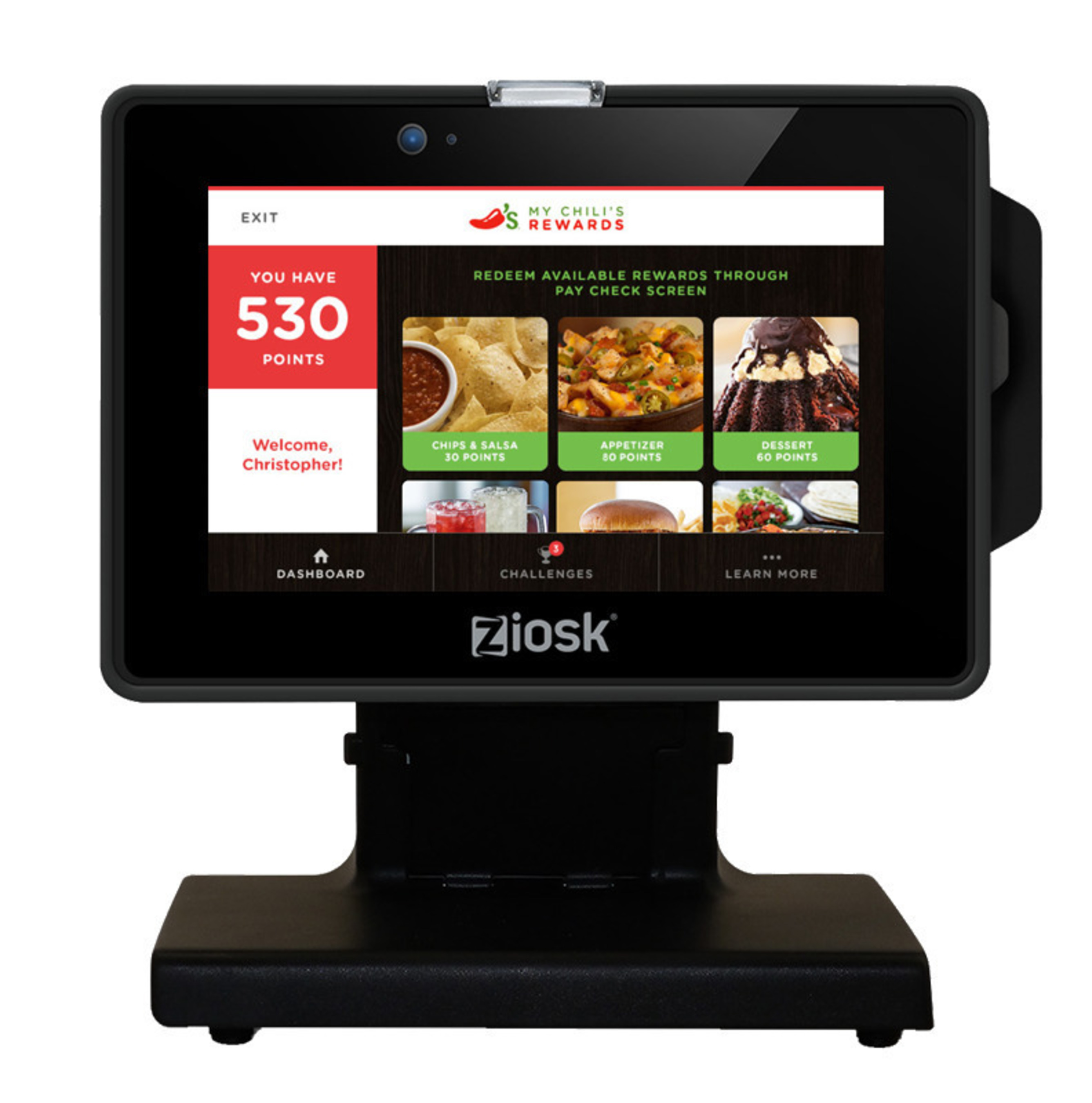 Chili's is the first restaurant company of its size to completely integrate a loyalty program with tabletop  ...