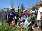 The great outdoors and mountain scenery greet campers and counselors during an Operation Purple Camp (OPC). The National Military Family Association (NMFA) runs OPC, with the support of Wounded Warrior Project. Photo courtesy of NMFA.