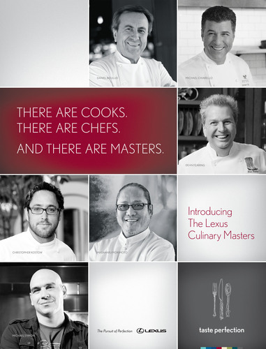 Exclusive Lexus Culinary Team to Debut at Pebble Beach Food & Wine