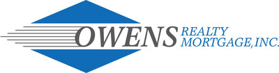 Owens Realty Mortgage, Inc. logo.