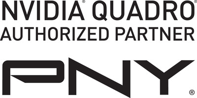 NVIDIA Quadro Authorized Partner PNY Technologies logo.  (PRNewsFoto/PNY Technologies, Inc.)