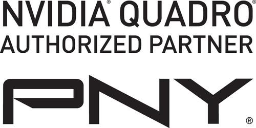 NVIDIA Quadro Authorized Partner PNY Technologies logo.  (PRNewsFoto/PNY Technologies, Inc.)