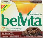 belVita Breakfast Biscuit, Chocolate variety . (PRNewsFoto/Mondelez Global LLC) (PRNewsFoto/MONDELEZ GLOBAL LLC)