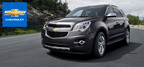 The 2014 Chevy Equinox shows crossover balance by combining interior versatility and powerful SUV performance.  (PRNewsFoto/Mike Castrucci Chevrolet)