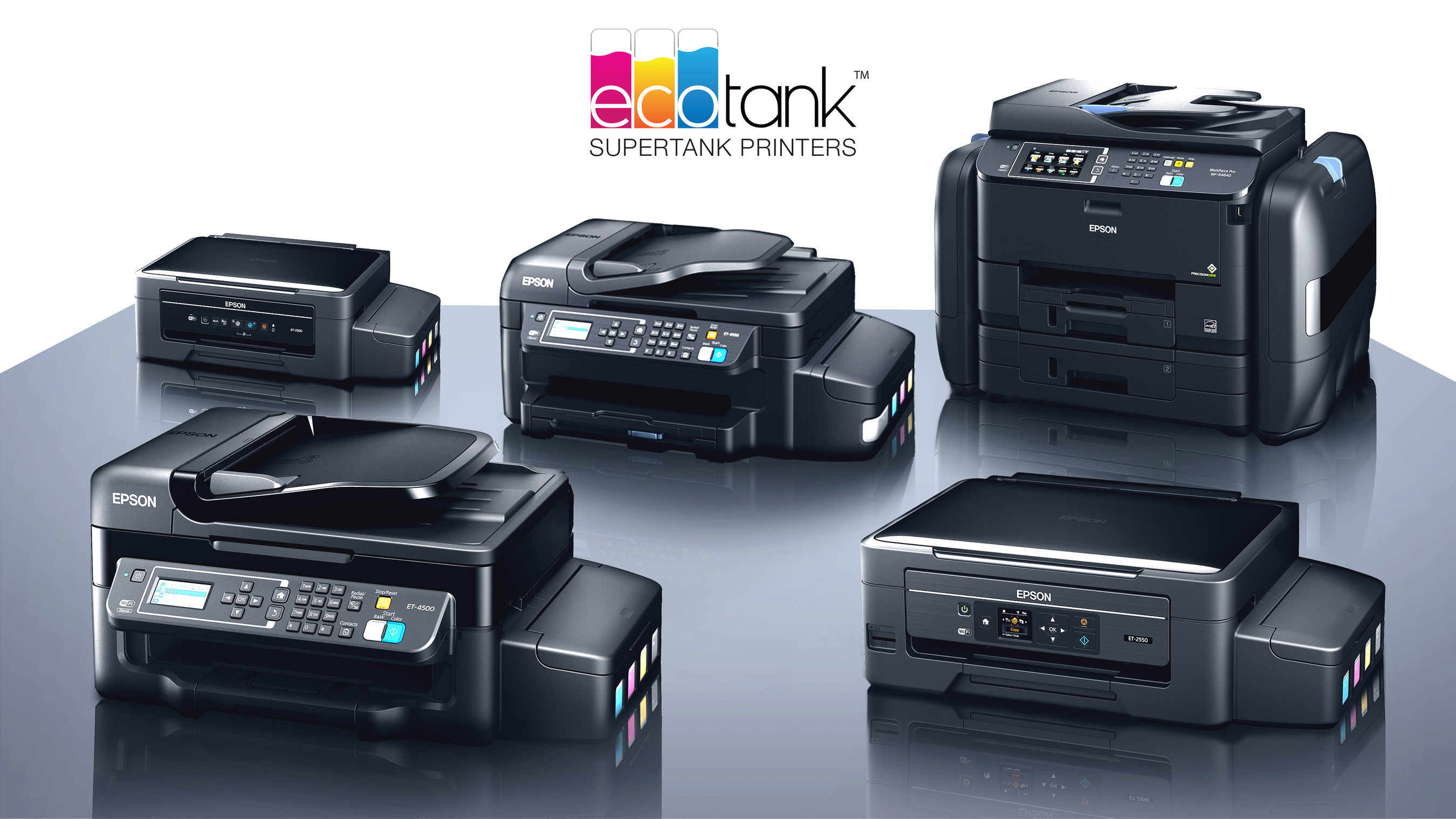 Epson Transforms Printer Category with EcoTank - Loaded and Ready to Print for Up to Two Years Without an Ink Refill