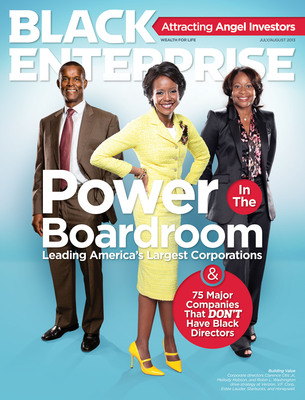 Exclusive report on African Americans on corporate boards released by @BlackEnterprise #BlacksonBoards.  (PRNewsFoto/BLACK ENTERPRISE)
