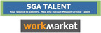 SGA Talent / Work Market.  (PRNewsFoto/SGA Talent)