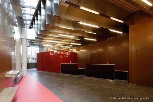 The lightness of wood and the speed of modular design were primary reasons for choosing Kerto(R) LVL in the design and construction of Paris Police headquarters. (PRNewsFoto/Metsa Wood)